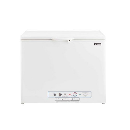 6.0 cu. ft. Propane Chest Freezer with CO Alarming Device and Safety Shut-Off in White