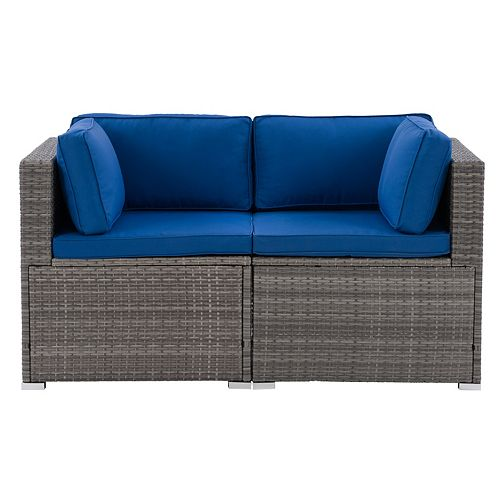 Corliving CorLiving Parksville Outdoor Sectional Set 2pc