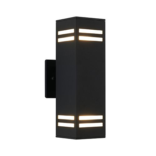 Artika C7 Strike Black Indoor/Outdoor Wall Light
