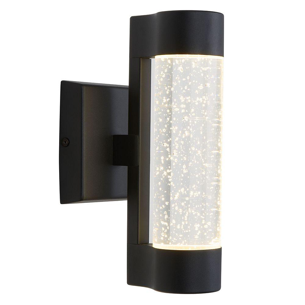 Artika Bubble Element Black Indoor Outdoor Wall Light The Home Depot Canada