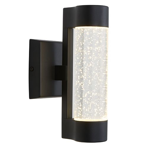 Artika Bubble Element Black Indoor/Outdoor Wall Light