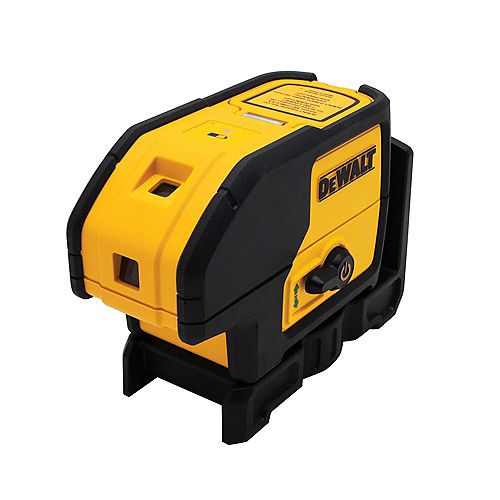 100 ft. Green Self-Leveling 3-Spot Laser Level with (2) AA Batteries