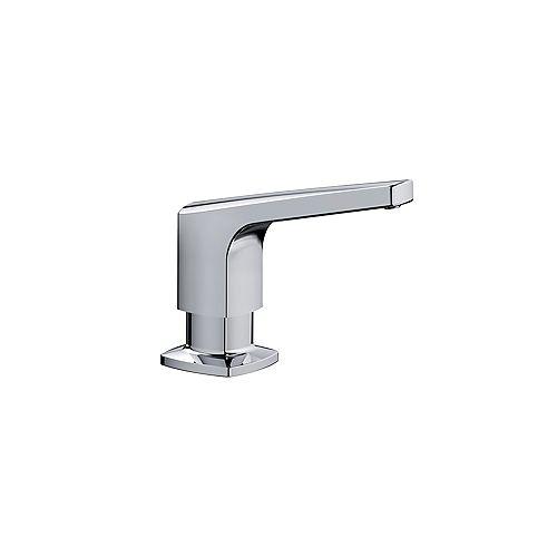 RIVANA Soap Dispenser, Chrome, (500 ml) 16.9 fl oz.