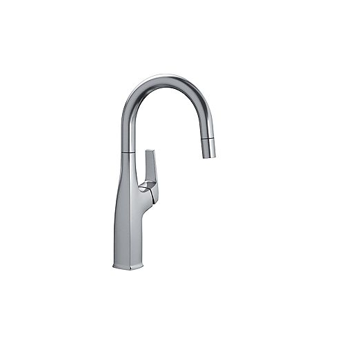 Blanco RIVANA BAR/PREP, Pull-down Kitchen Faucet, 1.5 GPM flow rate, Stainless Finish
