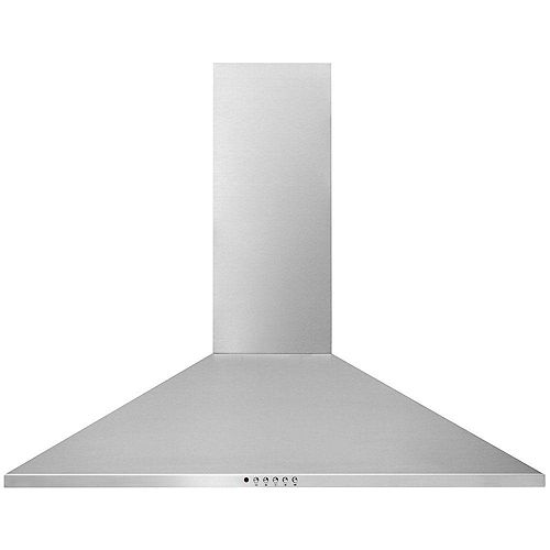 36-inch Canopy Wall-Mounted Range Hood in Stainless Steel