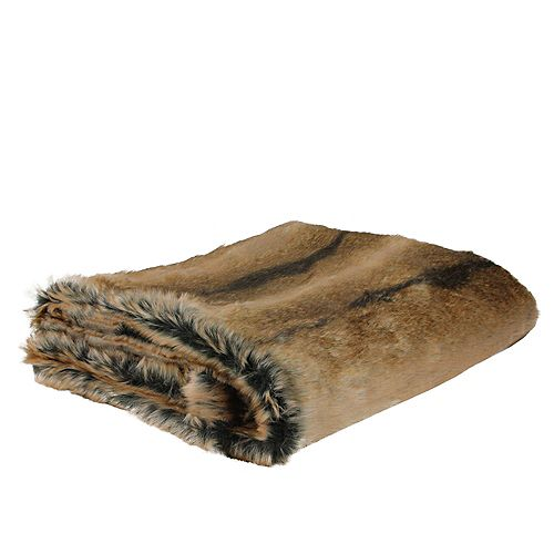 """Tawny Brown Couverture contemporaine Throw 50"""" x 60"""""""