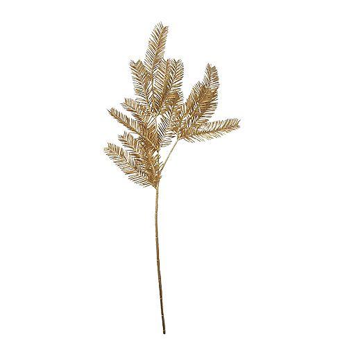 """26"""" paillettes d'or pin artificiel de Noël pulvérisation"""