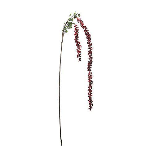 """60"""" Hanging Red Berries artificielle spray de Noël"""