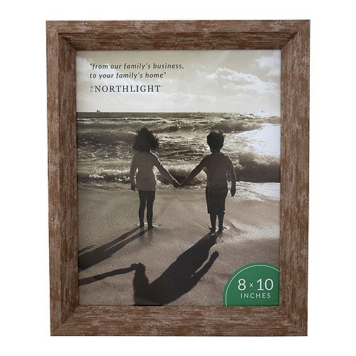 """11.25"""" Classical Rectangular 8"""" x 10"""" Photo Picture Frame - Brown"""