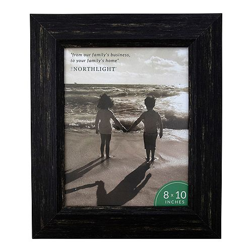 "13"" Distressed Fini rectangulaire 8"" x 10"" Cadre photo - Noir"