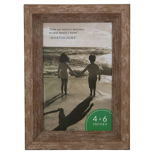 "7.5"" classique rectangulaire Photo 4"" x 6"" Picture Frame - Brown"