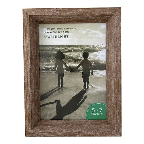 "8.25"" classique rectangulaire Photo 5"" x 7"" Picture Frame - Brown"