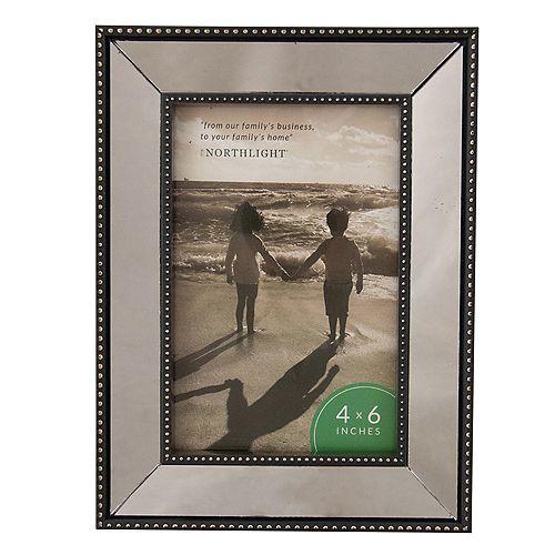 """Photo Mirrored Noir 4"""" DE CADRE x 6"""""""