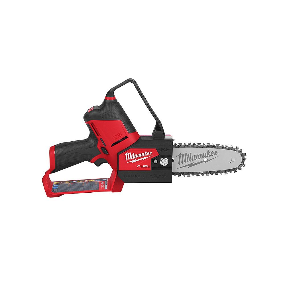 Milwaukee Tool M12 FUEL 12V Lithium-Ion Brushless Cordless 6-inch HATCHET Pruning Chainsaw (Tool Only)