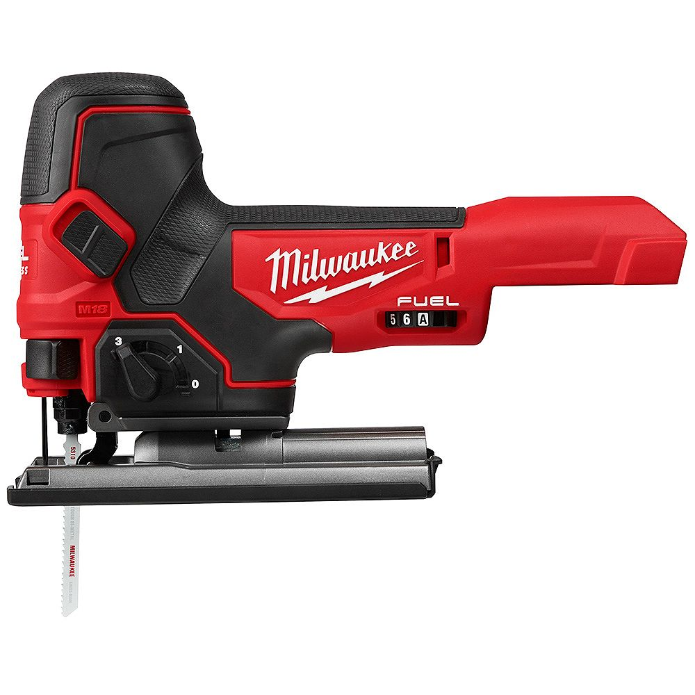 Milwaukee Tool M18 FUEL 18V Lithium-Ion Brushless Cordless Barrel Grip Jig Saw (Tool Only)