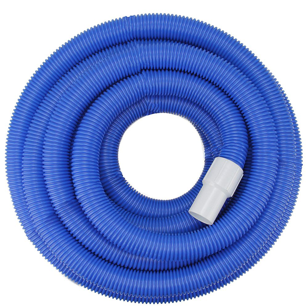 Pool Central 100 Blue Blow Molded Pe Swimming Pool Vacuum Hose The Home Depot Canada