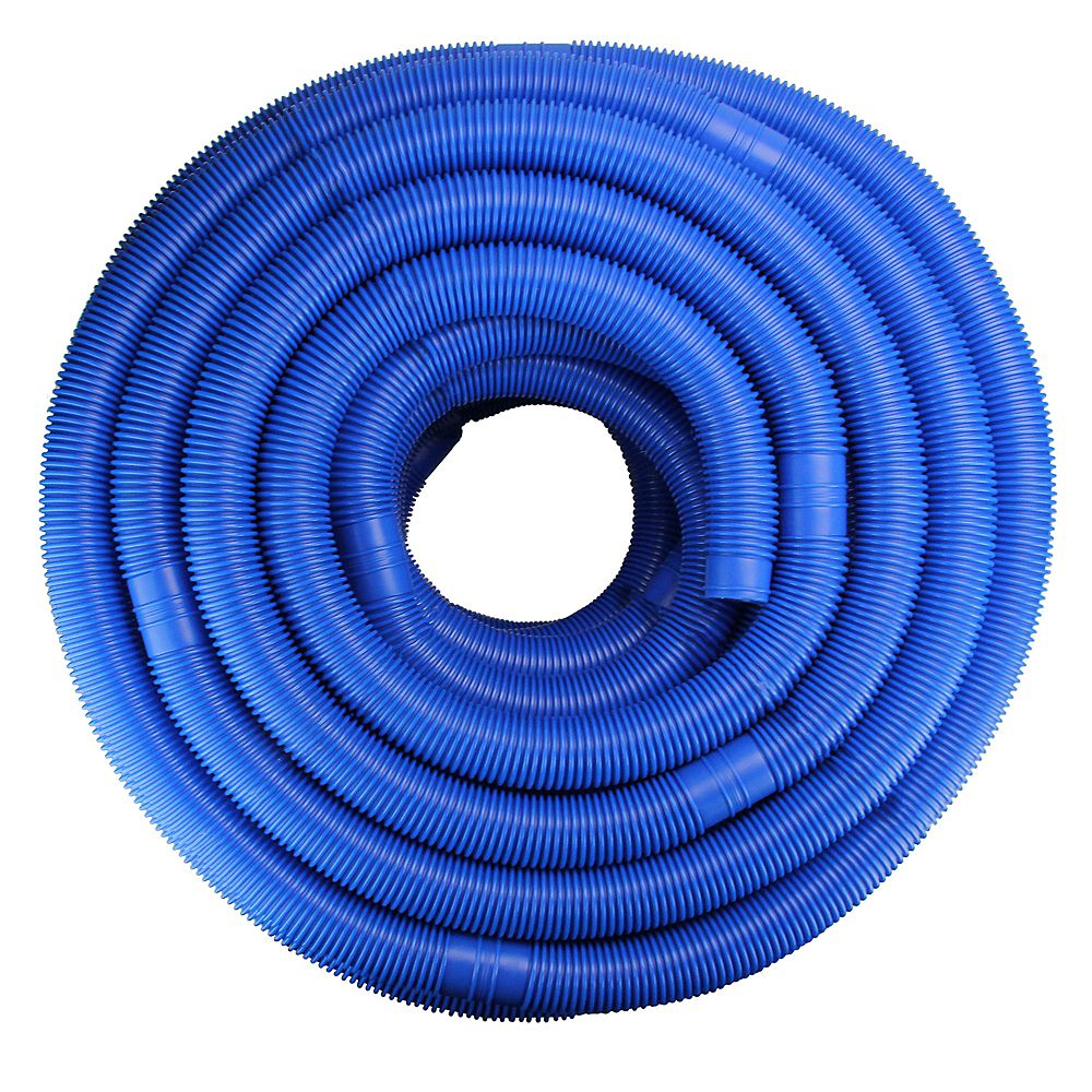 Pool Central 147 5 Blue Blow Molded Pe Swimming Pool Vacuum Hose The Home Depot Canada