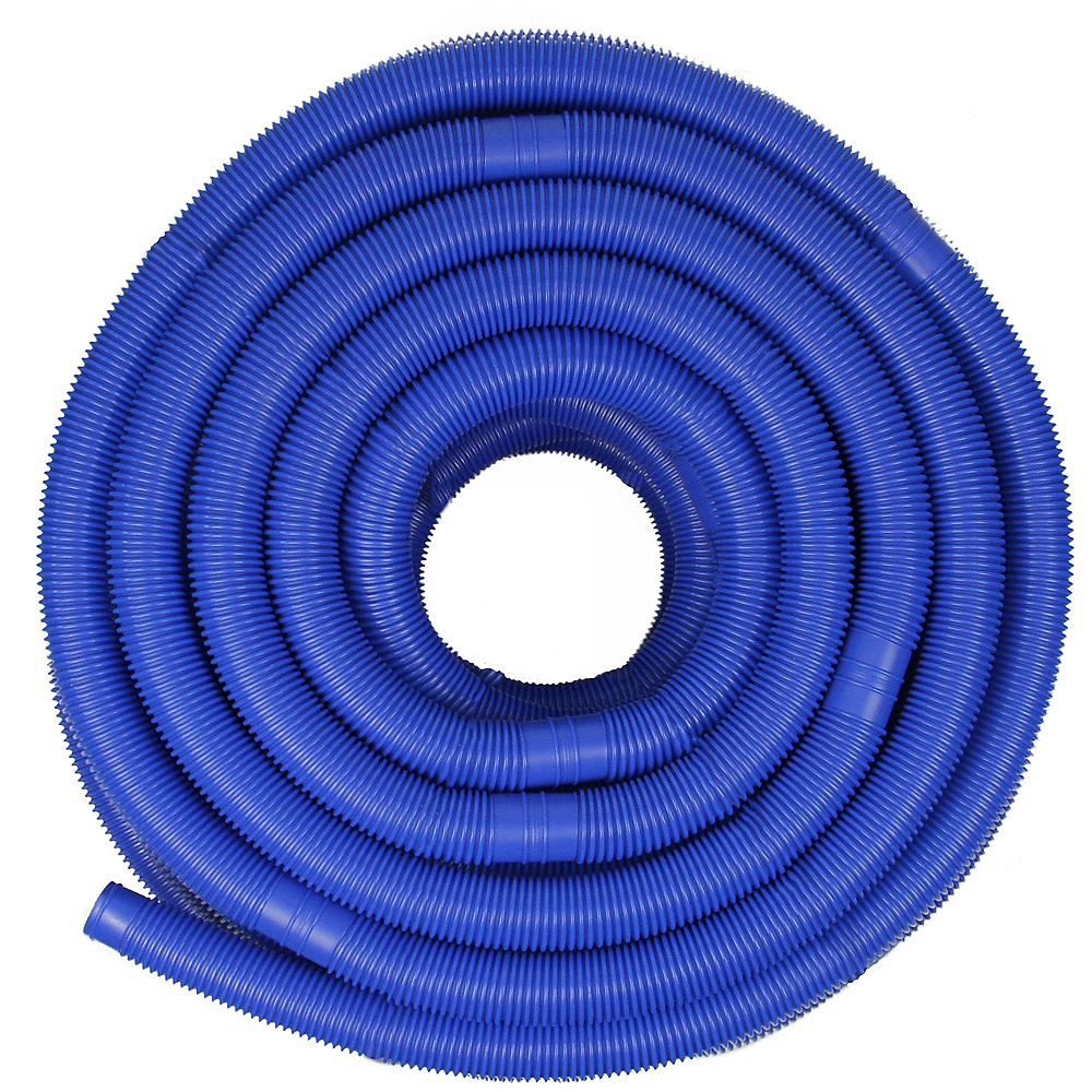 Pool Central 147 5 Blue Blow Molded Swimming Pool Vacuum Hose The Home Depot Canada