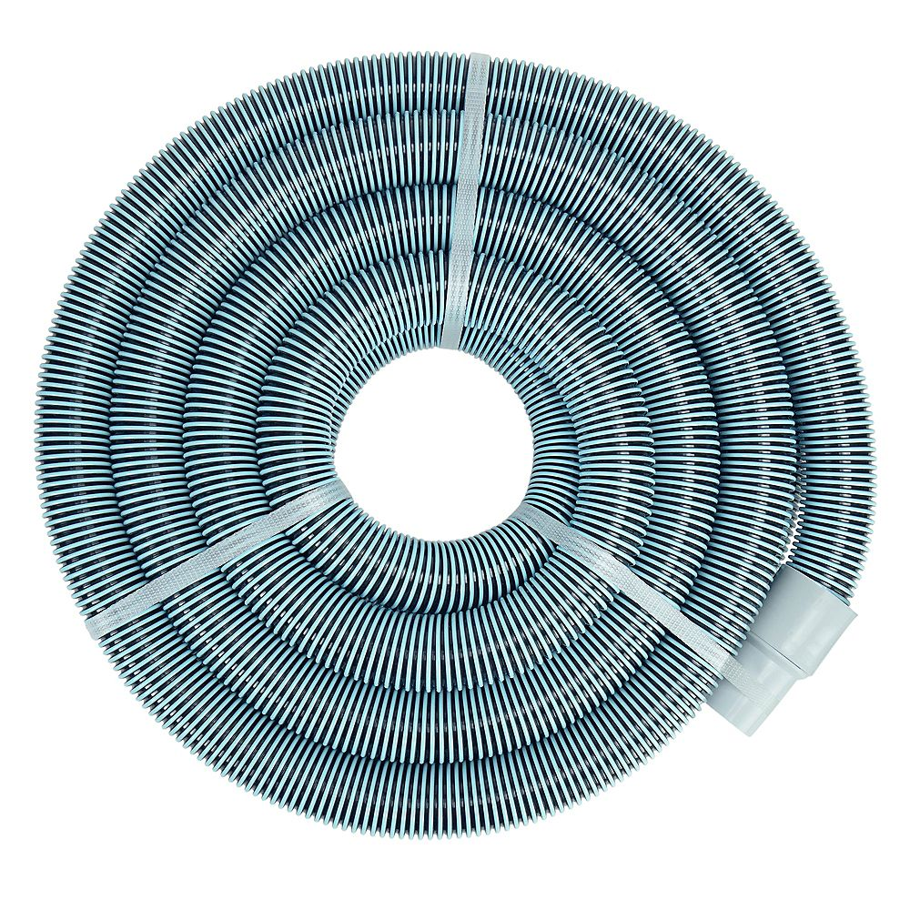 Pool Central 50 Blue Extruded Eva Swimming Pool Vacuum Hose The Home Depot Canada