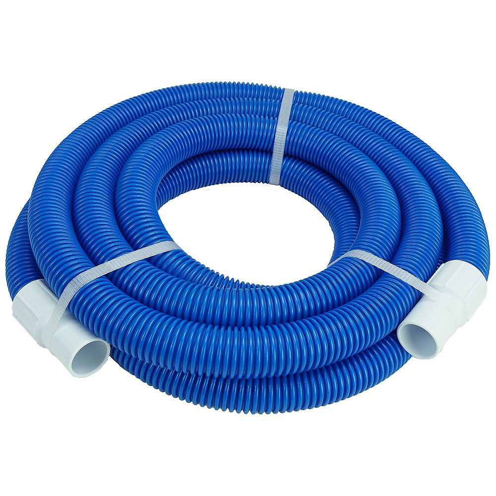 Northlight Blue Blow Molded Pe In Ground Swimming Pool Vacuum Hose With Swivel Cuff 18 X The Home Depot Canada