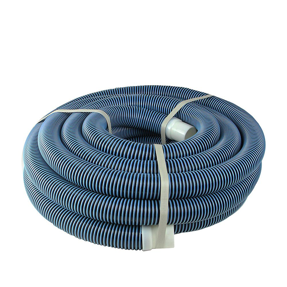 Pool Central Blue Spiral Wound Vacuum Swimming Pool Hose 35 X 1 5 The Home Depot Canada