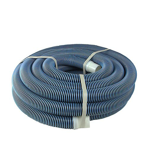 """Pool Central Blue Spiral Wound Vacuum Swimming Pool Hose 35' x 1.5"""""""