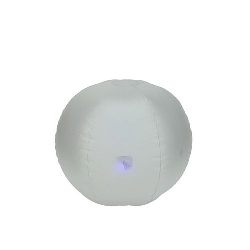 """16.5"""" Pre-Lit LED Color Changing Inflatable Beach Ball Swimming Pool Toy"""