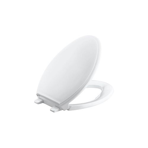 KOHLER Glenbury Quick-Release elongated toilet seat
