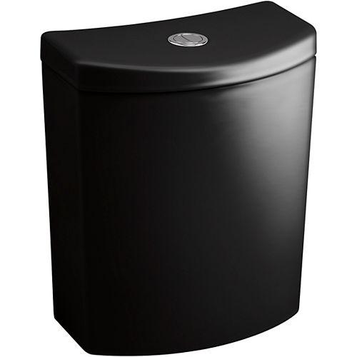 Persuade Curv dual-flush toilet tank, Black