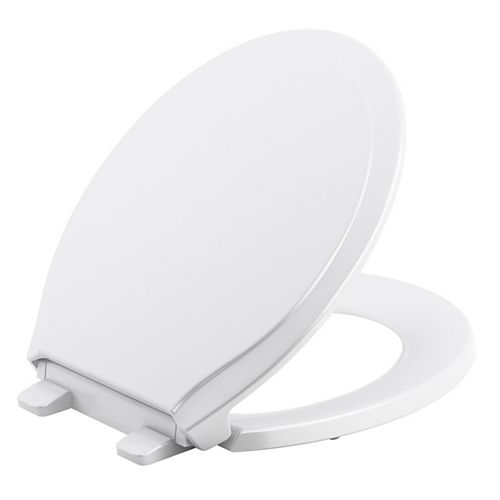 Rutledge Quiet-close round toilet seat