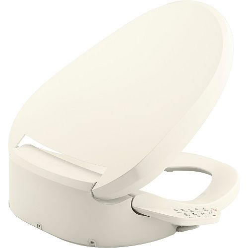 C3-155 elongated bidet  toilet seat, Biscuit