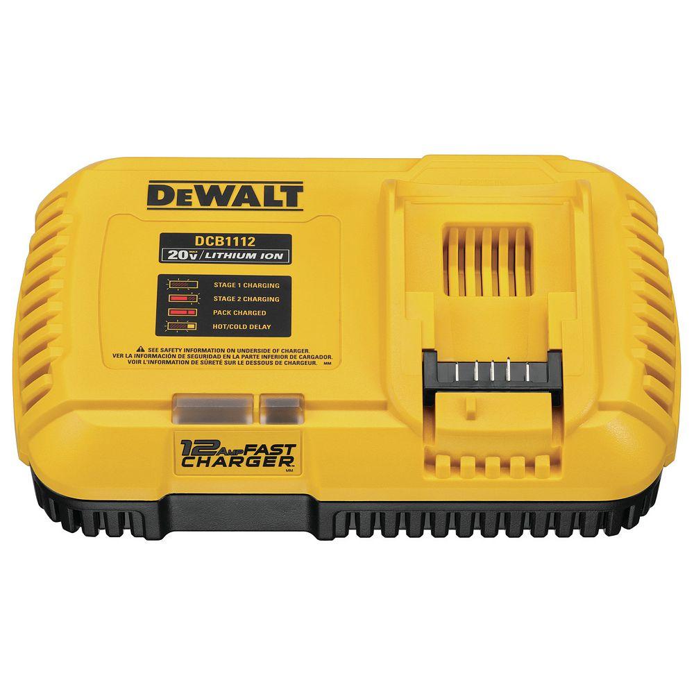 DEWALT 12 Amp Lithium-Ion Fast Charger Compatible with 20V/60V Batteries