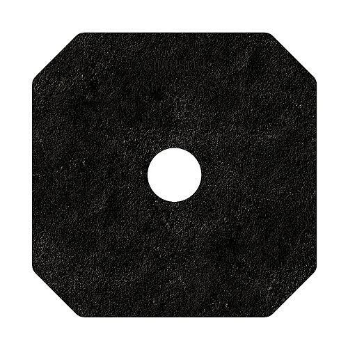 Outdoor Accents Avant Collection Z-MAX, Black Powder-Coated Decorative Washer