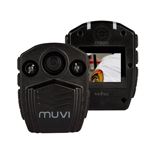 Muvi HD Pro 2 Professional 1080p Handsfree Camcorder with 32 GB Storage