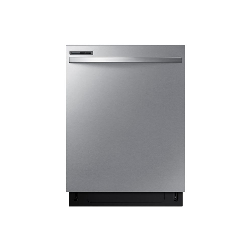 Samsung 24-inch Top Control Dishwasher with Plastic Tall Tub in Stainless Steel, 55 dBA - ENERGY STAR®