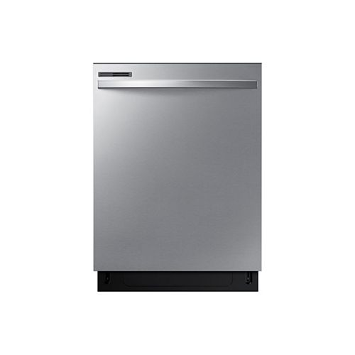 24-inch Top Control Dishwasher with Plastic Tall Tub in Stainless Steel, 55 dBA - ENERGY STAR®