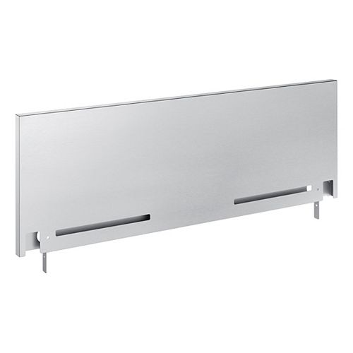 9-inch Stainless Steel Backguard for Slide-In Ranges