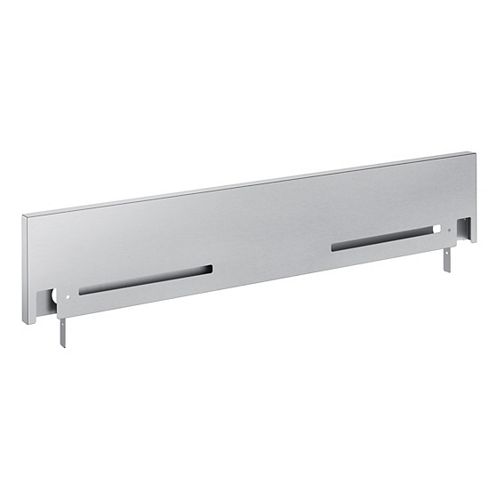 4-inch Stainless Steel Backguard for Slide-In Ranges