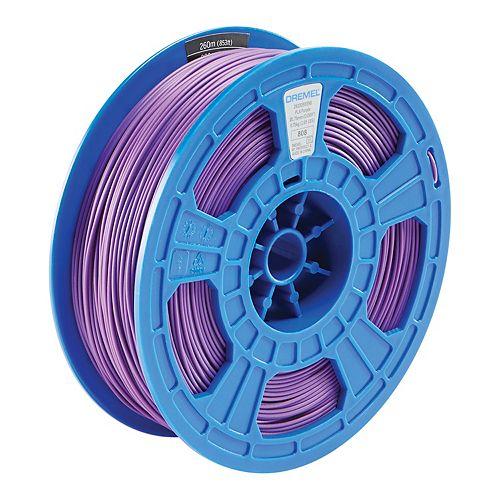 3D Filament PLA Purple 0.75kg