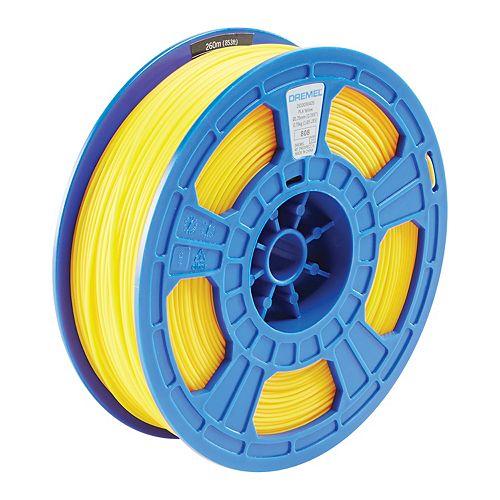 3D Filament PLA Yellow 0.75kg