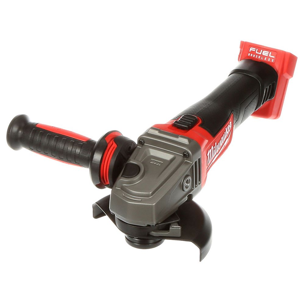Milwaukee Tool M18 FUEL 18V Lithium-Ion Brushless Cordless 4-1/2-inch /5 -inch Grinder W/ Slide Switch (Tool Only)