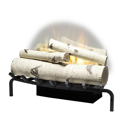 "Dimplex Revillusion 25"" Plug-In Birch Log Set"