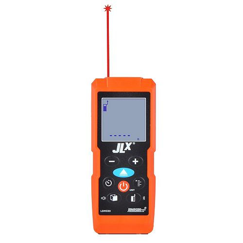 JLX 330 ft. Laser Distance Meter w/Angle Sensor and Bluetooth