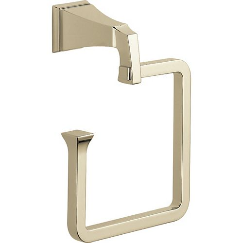 Dryden Towel Ring in Polished Nickel