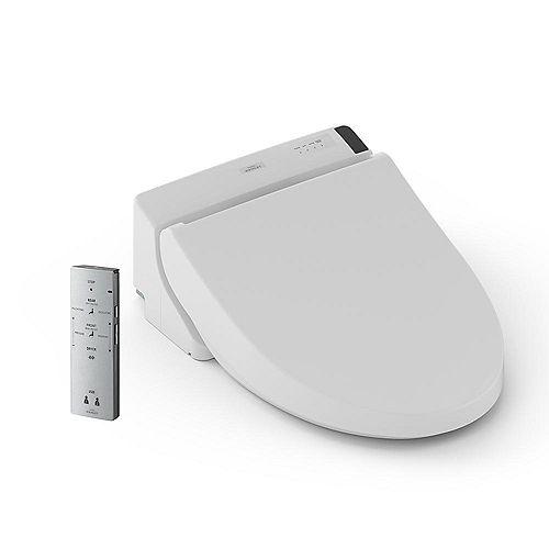 WASHLET C200 Round Front Bidet Toilet Seat in Cotton White