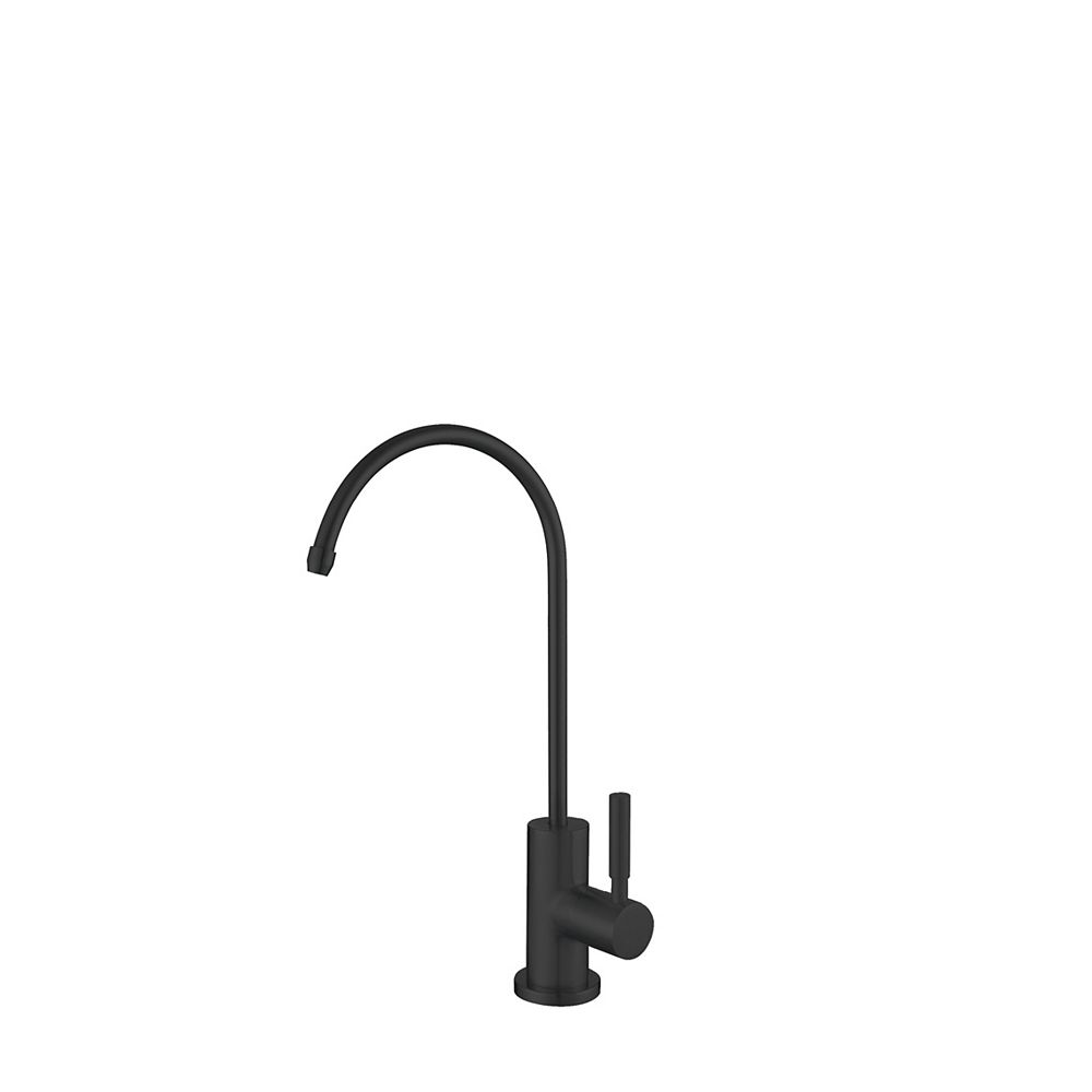 Stylish Stainless Steel Drinking Water Faucet in Matte Black