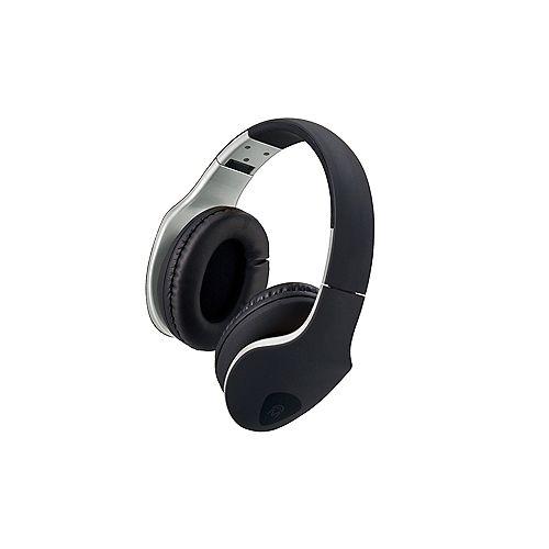 Écouteurs DJ Xpert avec microphone  Noir et Noir