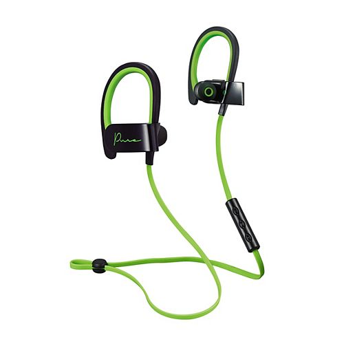 M Pure Bluetooth Earbuds in Green/Black