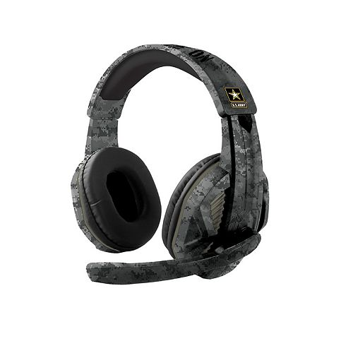 M Gaming Over Ear Headset with Omni Directional Microphone - Army Green