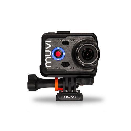 Caméra d'action 16MP Wi-Fi 1080p de Veho MUVI de série K avec boîtier étanche et carte mémoire 8 Go